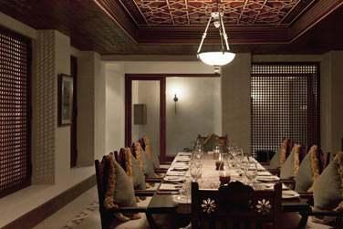 La salle à manger de la Suite Présidentielle