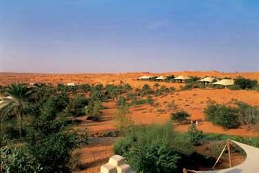 L'hôtel se situe à environ 65 km de Dubaï