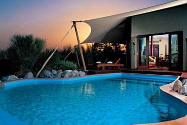 La piscine privée de la Suite Bédouin