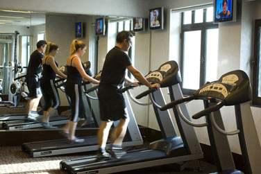Les plus sportifs se rendront à la salle de sport pour garder la forme !