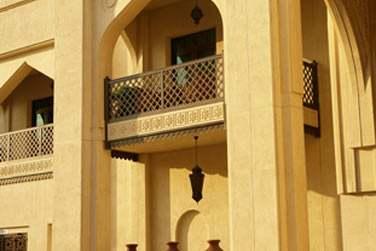 Une architecture, très réussie, qui a su mêler modernité et traditions orientales...