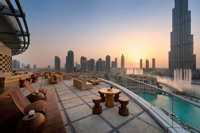 Hôtel The Address Downtown Dubaï 5*