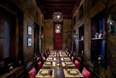 Le restaurant Masala sert une cuisine indienne authentique...
