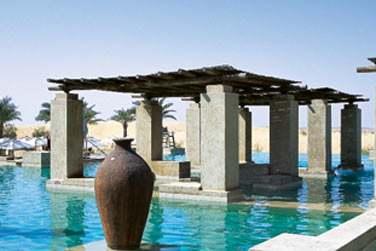 Une véritable oasis en plein désert