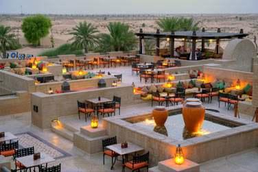 Al Sarab Rooftop Lounge, un lieu magique en plein désert