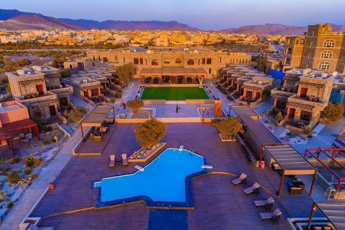 Hôtel Time Reversal Hotel & Spa (ex-Sahab Hotel) 3*, Oman