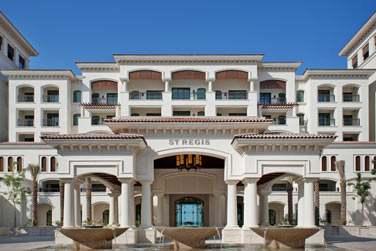 Une architecture méditerranéenne qui contraste totalement avec les autres hôtels futuristes et modernes de la ville