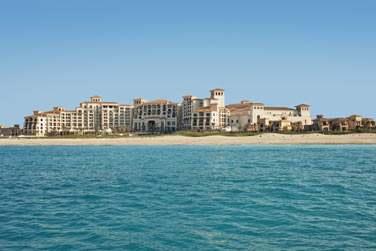 Bienvenue à l'hôtel The St. Regis Saadiyat Island Resort