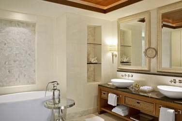Salle de bain de la Suite Océan