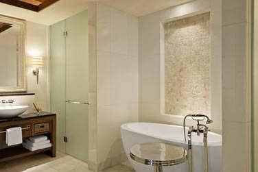Salle de bain de la Suite St. Regis