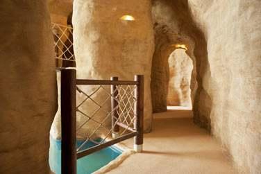 Le Sandcastle Club, au design d'un véritable chateau de sable...