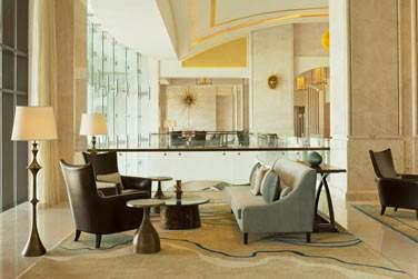The Drawing Room au niveau de la réception, propose toute une gamme de cafés, thés, thés glacés et pâtisseries