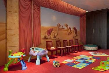 Un décor magnifique et ludique pour les enfants !