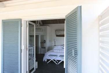 La Suite Lagon, ouverte sur une terrasse