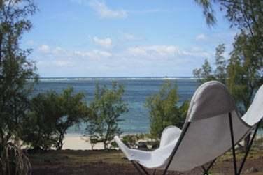 La superbe vue sur la mer depuis la terrasse de la Villa