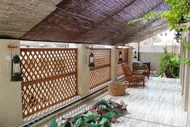 La terrasse de la chambre N°1 : un endroit vraiment paisible