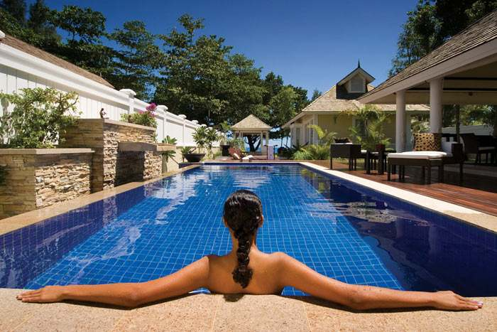 double pool villa - 2 chambres