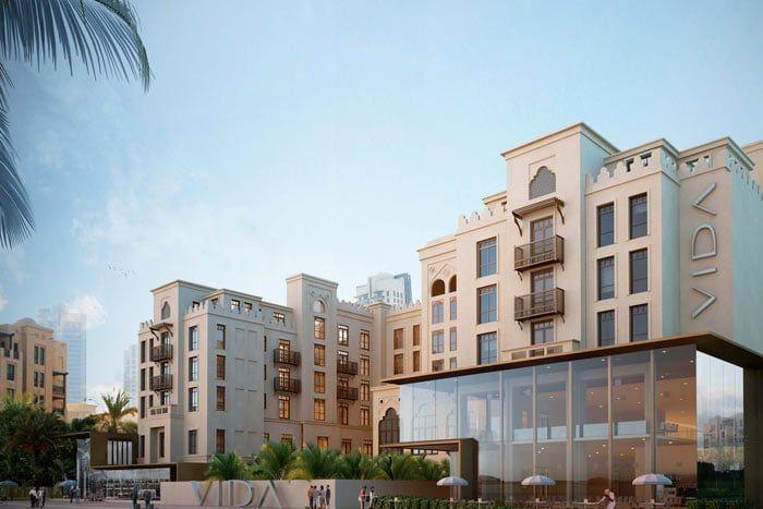 Hôtel Vida Downtown Dubaï 4*