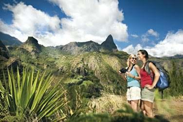 De nombreuses randonnées vous permettent de découvrir la beauté des paysages réunionnais