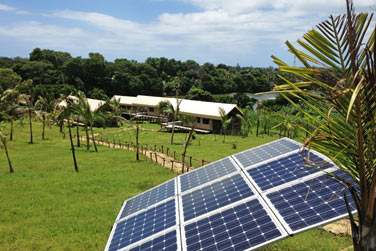 Le site est au plus près de la nature et veille à la préserver et à faire des économies d'énergie