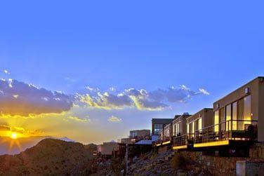 Perché en haut de la montagne, l'hôtel The View