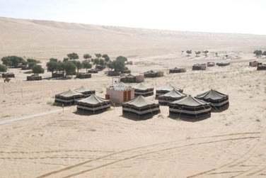 Vous découvrirez les campements au cœur des dunes