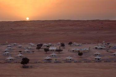 Plus luxueux, le Desert Night Camp
