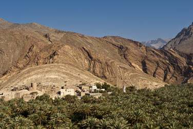Le village de Misfat, l'un des plus pittoresques d'Oman