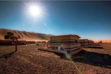 En plein cœur du désert