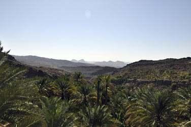 Vous parcourrez les montagnes du Massif du Hajjar