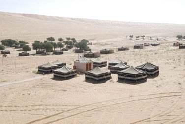 Séjournez dans un camp au cœur de Wahiba Sands