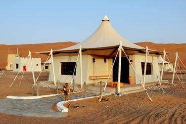 Un boutique-hôtel de luxe au sein du désert