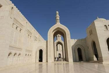 Vous visiterez la Grande Mosquée du Sultan Qaboos