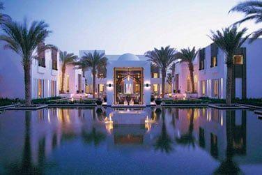 L'hôtel Chedi vous accueille dans un cadre très raffiné