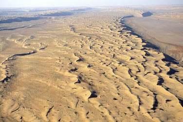 Le désert de Wahiba Sands !