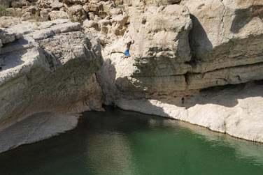 A l'est, découvrez les oueds (wadis)et plongez dans les eaux claires de leurs piscines naturelles