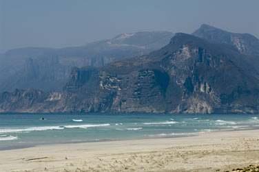 Les plages de sable blanc du Dhofar, du côté d'Al Mughsayl