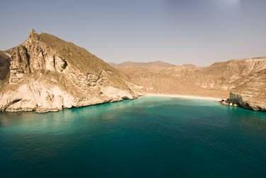 Entre côte rocheuse et escarpée et mer turquoise... Les panoramas sont de toute beauté