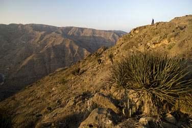 Paysages de montagne du Dhofar...