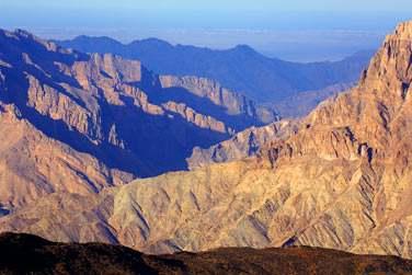 Paysages des montagnes du Hajjar