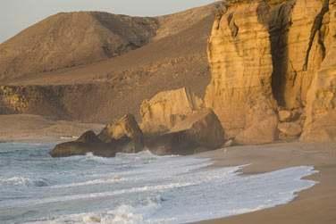 La plage de Ras Al Jinz est de toute beauté et encore intacte