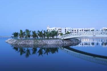 L'hôtel est situé à 200 mètres de la plage de Salalah