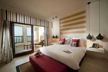 La spacieuse chambre de la Suite Marina