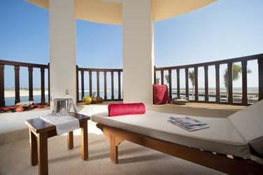 La terrasse de la Suite Marina