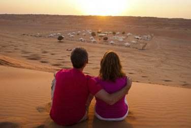 Le coucher de soleil sur les dunes est incroyable... Vous ne vous en lasserez pas !