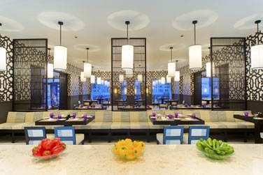 Le restaurant Al Sabla, au décor moderne