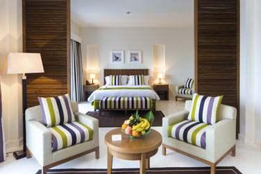 La Suite Marina au décor moderne et coloré !