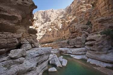 Les excursions dans les Wadi sont incontournables lors de votre séjour à Oman !