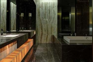 La salle de bain de la Suite Présidentielle
