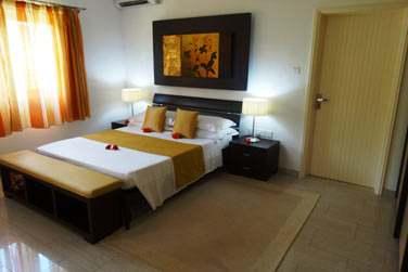 Spacieuses et décorées avec goût, les chambres invitent à la détente